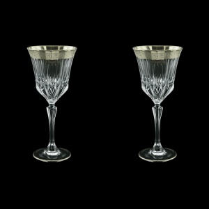 Adagio C2 F0031-1 Wine Stemware 280ml, 2pcs, in Lilit Platinum Embossed (F0031-1-0412=2)