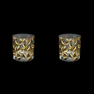 Laurus B2 LLG Whisky Glasses 330ml 2pcs in Gold (1355/2)