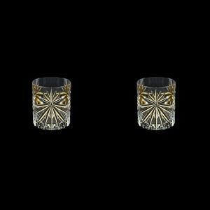 Oasis B2 OOG KCR Whisky Glasses 315ml 2pcs in Full Star Gold+KCR (1310/2/KCR)