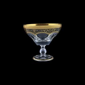 Fusion MMH FEGB Small Bowl w/F d13cm 1pc in Flora´s Empire Golden Black Decor (26-016L)