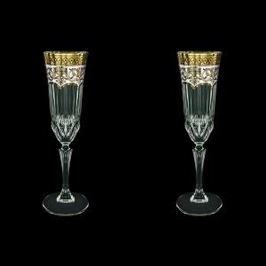 Adagio CFL AEGW Champagne Flutes 180ml 2pcs in Flora´s Empire Golden White D. (21-594/2)