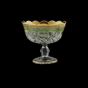 Opera MSH OEGG Small Bowl d18cm 1pc in Flora´s Empire Golden Green Decor (24-066N)