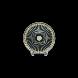 Sunbeam CP SNPL Cake Plate d18cm 1pc in Romance Platinum Bright Decor (33-1/0381/BT)
