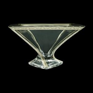 Bohemia Quadro MV QNPC B Bowl d32,5cm 1pc in Romance Platinum Classic Decor (33-1/469)