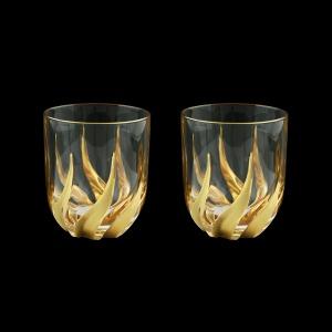 Trix B2 TTG Whisky Glasses 400ml 2pcs in Gold (1265/2)