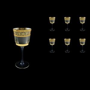 Macassar C2 MALK Wine Glasses 350ml, 6pcs in Allegro Golden Light (65-9012/L)
