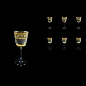 Macassar C3 MALK Wine Glasses 250ml, 6pcs in Allegro Golden Light (65-9013/L)