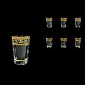 Macassar B0 MALK Water Glasses 360ml, 6pcs in Allegro Golden Light (65-9000/L)