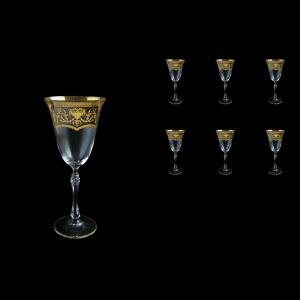 Parus C2 PEGK Wine Glasses 250ml, 6 pcs in Flora´s Empire Golden Crystal D. (20-2512/L)