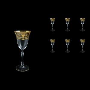 Parus C3 PEGK Wine Glasses 185ml, 6 pcs in Flora´s Empire Golden Crystal D. (20-2513/L)