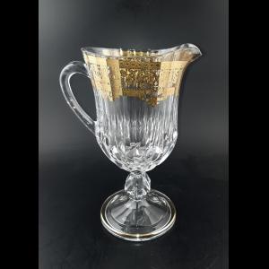 Adagio JH F0020 Jug 1230ml 1pc in Natalia Golden Crystal Decor (F0020-0424-L)
