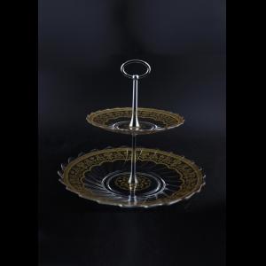 Afrodita GR AEGK Cascade Gorka d16+26cm, 1pc in Flora´s Empire Golden Crystal (20-5A0A/L)