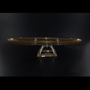 Fenice DTD FEGK Three-Tray 41x11,5cm 1pc in Flora´s Empire Golden Crystal (20-1H91/L)