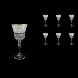 Adagio C2 A006A Wine Stemware 280ml, 6pcs, in Allegro White&Grey Light (A006A-0412-L)