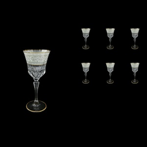 Adagio C3 A006A Wine Stemware 220ml, 6pcs, in Allegro White&Grey Light (A006A-0413-L)