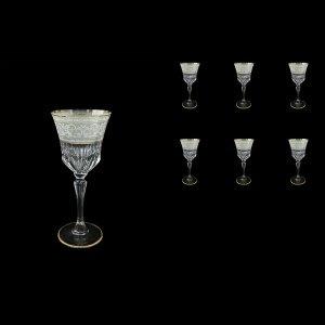 Adagio C3 A006A Wine Stemware 220ml, 6pcs, in Allegro White&Grey Light (A006A-0413-L)