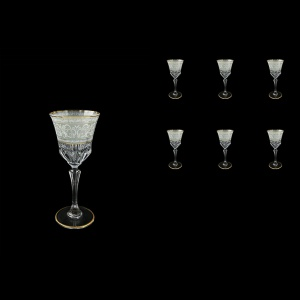Adagio C4 A006A Cherry Stemware 150ml, 6pcs, in Allegro White&Grey Light (A006A-0414-L)