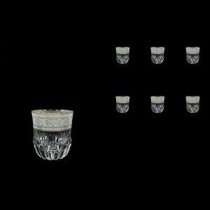 Adagio B2 A006A Whisky Tumblers 350ml, 6pcs, in Allegro White&Grey Light (A006A-0402-L)