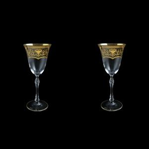 Parus C3 PEGK Wine Glasses 185ml, 2 pcs in Flora´s Empire Golden Crystal D. (20-2513/2/L)