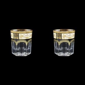Provenza B2 F0016 Whisky Glasses 280ml 2pcs in Diadem Golden Black (F0016-0002=2)