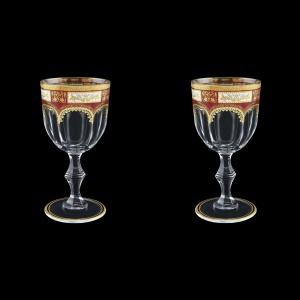 Provenza C3 F0012 Wine Glasses 170ml 2pcs in Diadem Golden Red (F0012-0013=2)