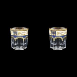 Provenza B3 F0013 Whisky Glasses 185ml 2pcs in Diadem Golden Blue (F0013-0003=2)