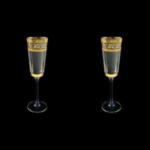 Macassar CFL MALK Champagne Flute 170ml, 2pcs in Allegro Golden Light (65-9010/2/L)