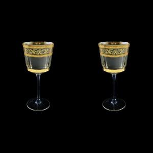 Macassar C2 MALK Wine Glasses 350ml, 2pcs in Allegro Golden Light (65-9012/2/L)