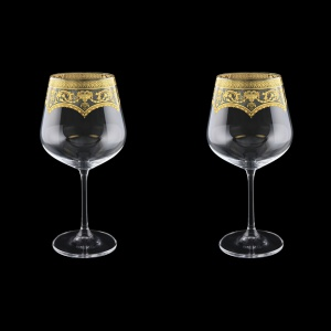 Strix CWR SELK Red Wine Glasses in Flora´s Empire G. Crystal L 600ml, 2pcs (20-2216/2/L)