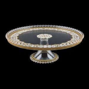 Zefyros CPY ZEGW Cake Plate d32cm, 1pc in Flora´s Empire Golden White L. (21-5E75/L)