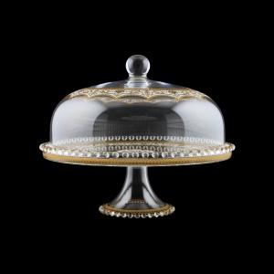 Zefyros SPY ZEGW Serving Plate d32cm, 1pc in Flora´s Empire Golden White L. (21-5E0H/L)