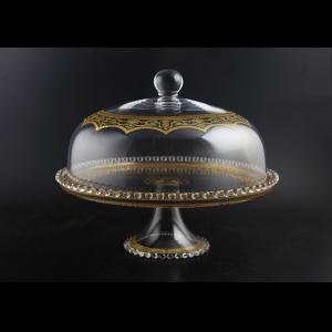 Zefyros SPY ZEGK Serving Plate d32cm, 1pc in Flora´s Empire Golden Crystal (20-5E0H/L)