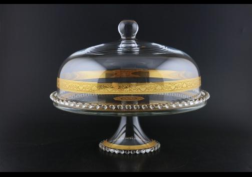 Zefyros SPY ZNGC Serving Plate d32cm, 1pc in Romance Golden Classic D. (33-5E0H)