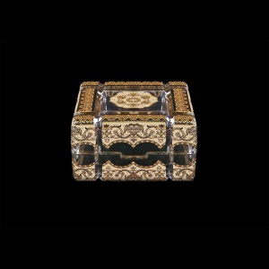 Scatola Cuba CEGI 10cm 1pc in Flora´s Empire Golden Ivory Decor (25-243)