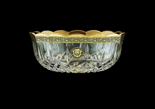 Opera MV OOGB Large Bowl d23cm 1pc in Lilit&Leo Golden Black Decor (41-201)