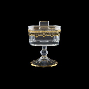 Victoria DOB VEGB Sugar Dose 12,6x9cm, 1pc in Flora´s Empire Golden Black D. (26-5K0Q/L)