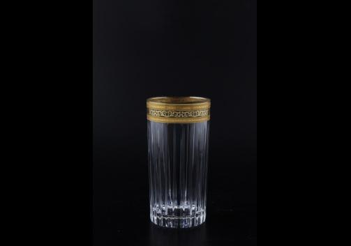Timeless B0 TALK Water Glasses 440ml 6pcs in Allegro Golden Light Decor (65-0800/L)