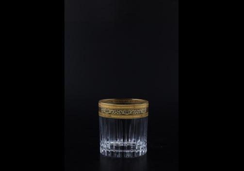 Timeless B2 TALK Whisky Glasses 360ml 6pcs in Allegro Golden Light Decor (65-0802/L)