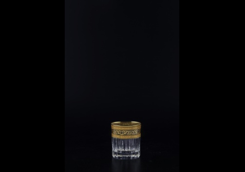 Timeless B5 TMGB Liqueur Tumblers 78ml 6pcs in Allegro Golden Light Decor (65-0805/L)