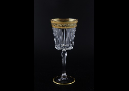 Timeless C2 TALK Wine Glasses 298ml 6pcs in Allegro Golden Light Decor (65-0812/L)