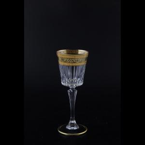 Timeless C5 TALK Liqueur Glasses 110ml 6pcs in Allegro Golden Light Decor (65-0815/L)