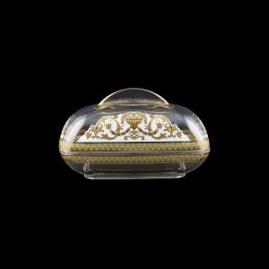 Rheia DO REGW Butter Dose 15x11,8cm, 1pc in Flora´s Empire Golden White L. (21-5I0E/L)