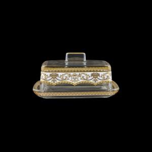 Victoria DO VEGW Butter Dose 14,5x12cm, 1pc in Flora´s Empire Golden White L. (21-5K0F/L)