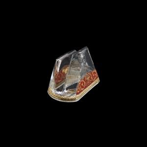 Minerva NA MEGR Napkin 9,8x6cm, 1pc in Flora´s Empire Golden Red L. (22-5H0D/L)