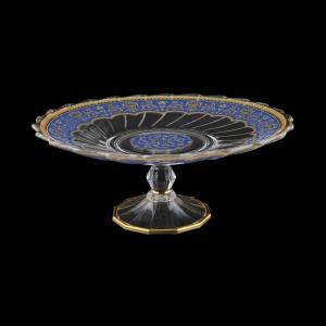 Afrodita CPB AEGC Cake Plate d27cm, 1pc in Flora´s Empire Golden Blue L. (23-5A77/L)