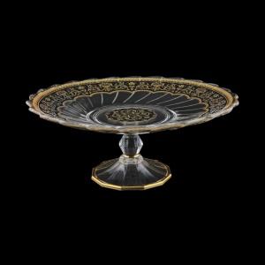 Afrodita CPB AEGB Cake Plate d27cm, 1pc in Flora´s Empire Golden Black L. (26-5A77/L)