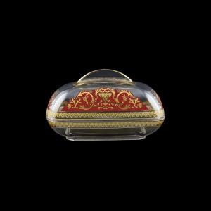 Rheia DO REGR Butter Dose 15x11,8cm, 1pc in Flora´s Empire Golden Red L. (22-5I0E/L)