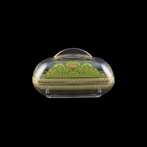 Rheia DO REGG Butter Dose 15x11,8cm, 1pc in Flora´s Empire Golden Green L. (24-5I0E/L)
