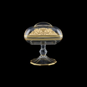 Rheia DOB REGI Butter Dose 15x11,8cm, 1pc in Flora´s Empire Golden Ivory L. (25-5I0L/L)