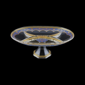 Rheia MDK REGC Four-Bowl 33,6x25cm, 1pc in Flora´s Empire Golden Blue L. (23-5I20/L)